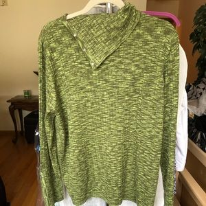 Gently used fall asymmetrical sweater